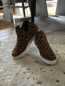 Jersey Wedge Slip-Ons