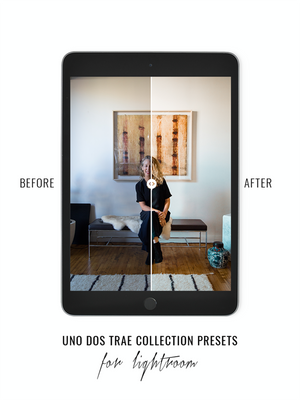 Uno Dos Trae Lightroom Preset Collection