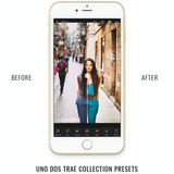 Uno Dos Trae Presets For Lightroom Mobile