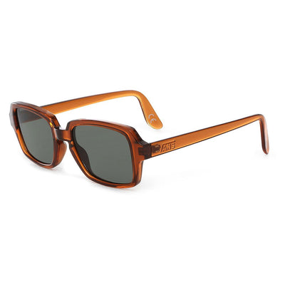 Brown Vans Rectangle Sunglasses - DUMBFRESHCO