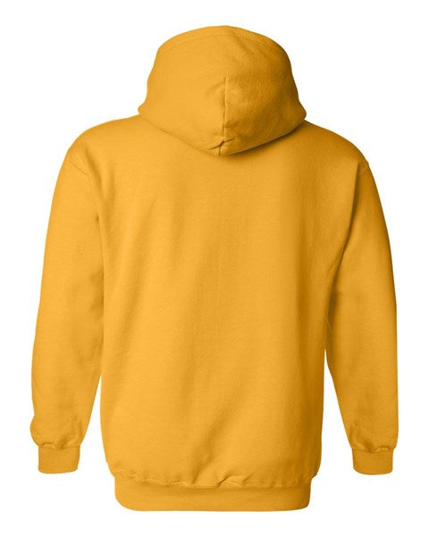 Yellow Gold Arch logo hoodie