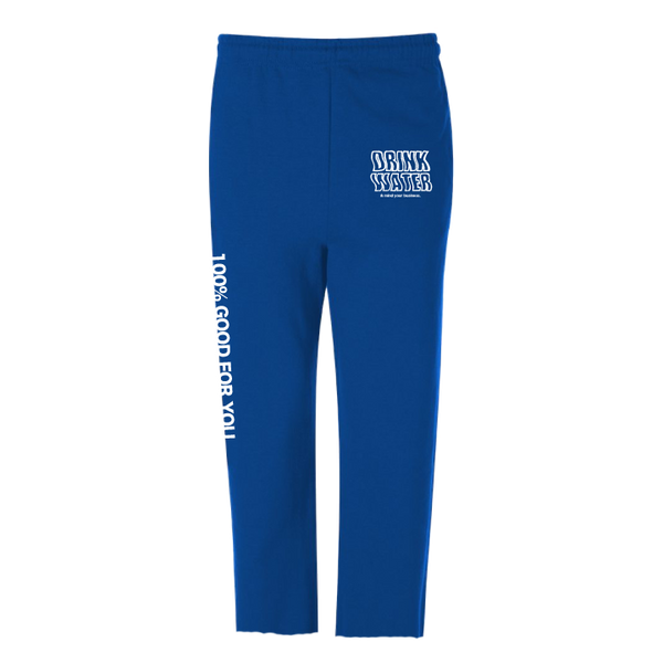 Drink Water crop sweatpants - Men's Clothing