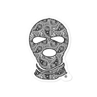 Paisley Ski mask stickers - Men's Clothing