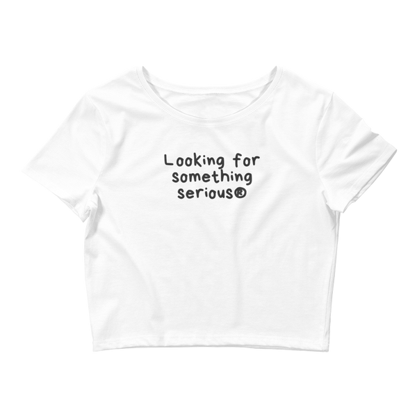 Looking for something Crop Tee - Men's Clothing