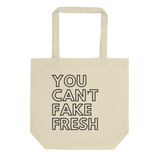 You Can't Fake Fresh tote bag - Men's Clothing