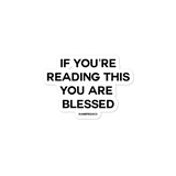 Blessed stickers - Men's Clothing