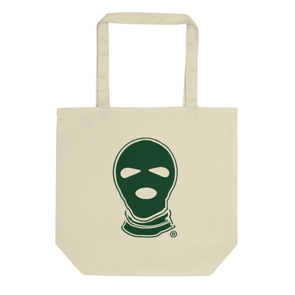 Ski mask Eco Tote Bag - DUMBFRESHCO