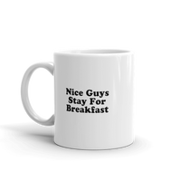 Nice Guys Stay For Breakfast Mug - Men's Clothing
