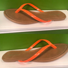 Load image into Gallery viewer, Orange Flip Flop