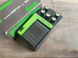 1980's Ibanez SML Super Metal Distortion MIJ Japan Effects Pedal w/Box