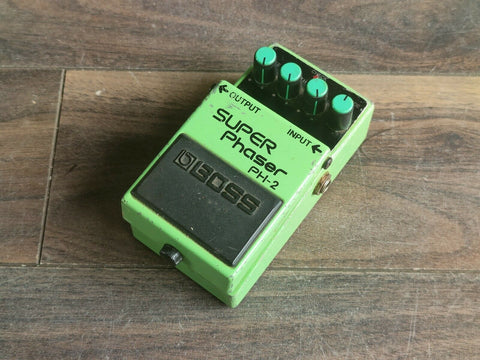 1990's Boss PH-2 Super Phaser Vintage Effects Pedal