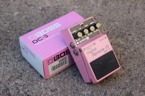 1990 Boss DC-3 Digital Space D Chorus MIJ Japan Vintage Effects Pedal w/Box