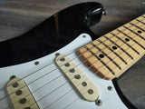 2010 Fender Japan ST-STD Stratocaster Standard (Black/Maple)
