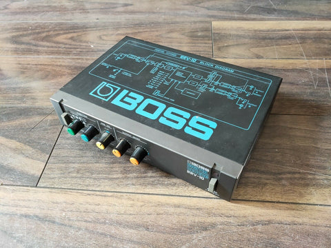 1980's Boss RRV-10 Digital Reverb MIJ Japan Vintage Effects Rack