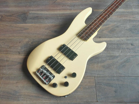 1986 Greco Japan JJB-1 Medium Scale Electric Bass Guitar (White)
