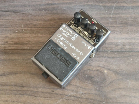 1994 Boss RV-3 Digital Reverb/Delay Effects Pedal