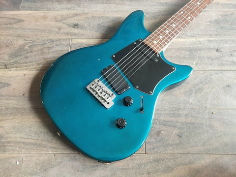 "1990 Heartfield (by Fender Japan) RR-7 ""Rock and Roll"" Electric Guitar (Blue)"