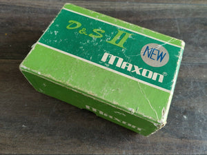 1978 Maxon D&S II Distortion Sustainer Overdrive Vintage Effects Pedal w/Box
