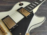 2012 Edwards Japan (by ESP) E-LP-130CD Les Paul Custom (White)
