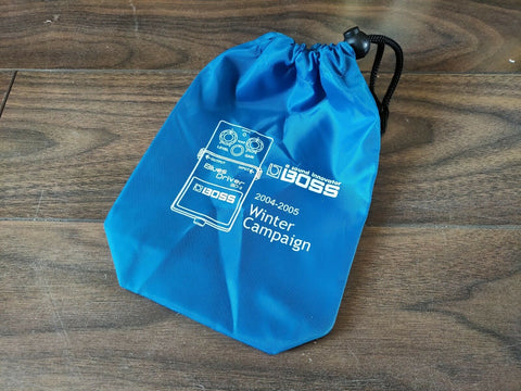 2004-2005 Boss BD-2 Blues Driver Promotional Winter Campaign Effects Bag (Blue)