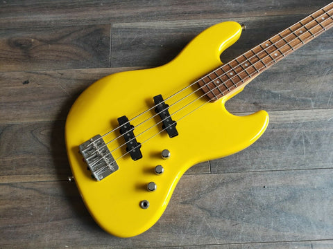 2002 History (Fujigen) Mini Jazz Bass TV Yellow (Made in Japan)