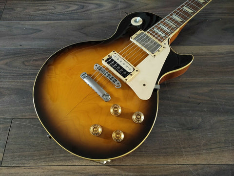 1998 Epiphone Japan LPS Domestic Les Paul Standard (Brown Sunburst)