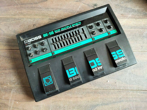 Vintage Boss BE-5B Bass Multi Effects MIJ Effects Pedal
