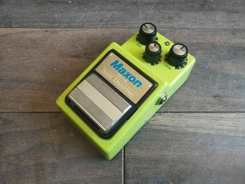 1981 Maxon SD-9 Sonic Distortion Distortion/Overdrive MIJ Japan Effects Pedal