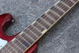 1960's Teisco WG-4L Offset Electric Guitar (Red)