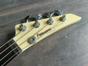 1980's Fernandes Japan BXB-55 Explorer Bass (Cream)