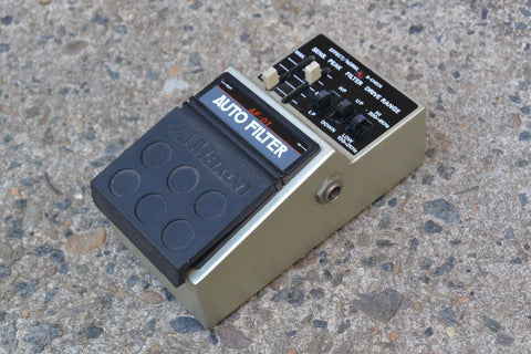 1980's Maxon AF-01 Auto FIlter Wah MIJ Japan Effects Pedal