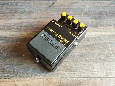 1984 Boss HM-2 Heavy Metal Distortion MIJ Vintage Effects Pedal