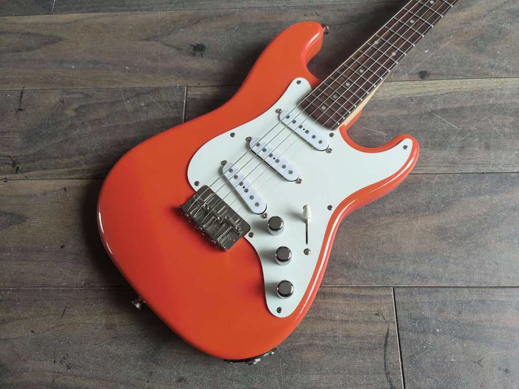 2002 History Japan Kid's Musician Series Stratocaster (Capri Orange)