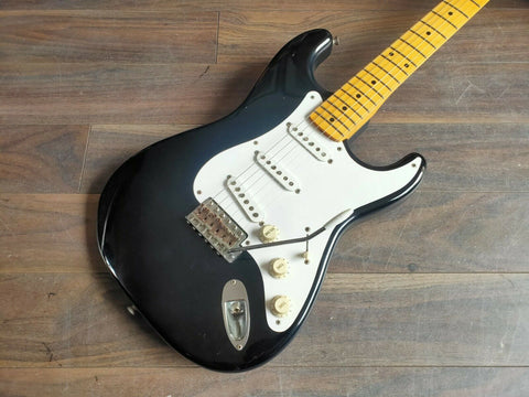 2005 Fender Japan '57 Reissue Stratocaster w/USA Pickups (Black)
