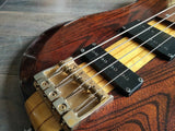 1982 Ibanez MC824 Musician Series Defretted Bass (Made in Japan)