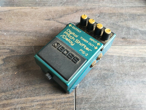 1991 Boss PS-2 Digital Pitch Shifter Delay MIJ Japan Vintage Effects Pedal