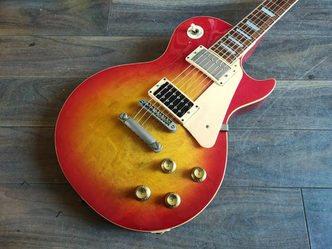 1979 Greco Japan EG-500 Les Paul Standard (Cherry Sunburst)