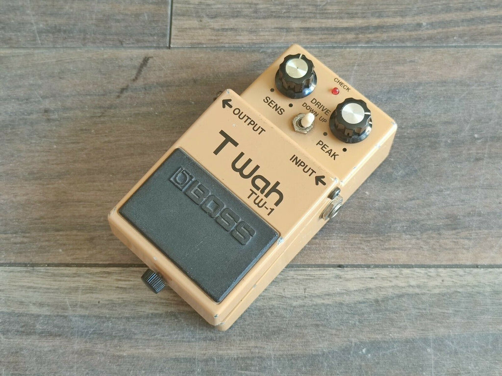 1986 Boss TW-1 Touch Wah Auto Filter MIJ Japan Vintage Effects Pedal