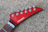 Fernandes Japan BX-55 Explorer Electric Guitar Project MIJ (Red)