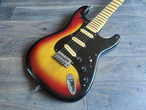 1979 Tokai Japan ST-42 Springy Sound Stratocaster (Scalloped)