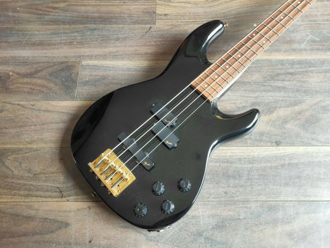 1989 Fender Japan PJM-65 Medium Scale PJ Jazz Bass Special (Black)