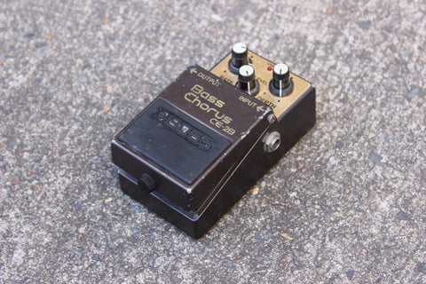 1987 Boss CE-2B Bass Chorus MIJ Japan Vintage Effects Pedal