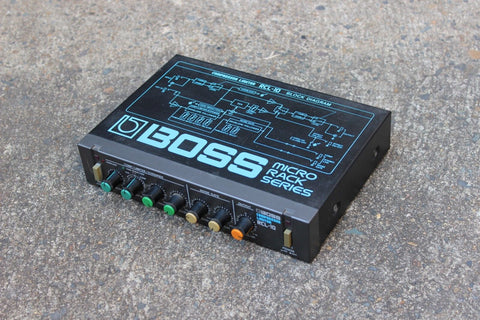 1980's Boss RCL-10 Compressor Limiter MIJ Japan Vintage Effects Rack
