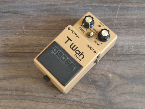 1984 Boss TW-1 Touch Wah Auto Filter MIJ Japan Vintage Effects Pedal