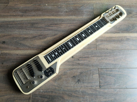 1970's Guyatone Japan Model HG-306C 6-String Lap Steel Slide Guitar