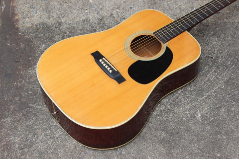 "1970's Vintage ""Aria & Co"" Japanese Martin-Style Acoustic Guitar"