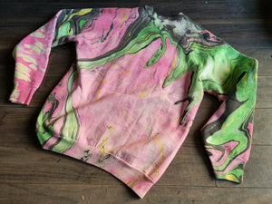 1990's Ibanez Limited Edition Sweater (Swirled by ATD/Darren Johansen) - Medium