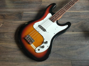 1960's Thomas Japan Short Scale Precision/Jazz Bass (Sunburst)