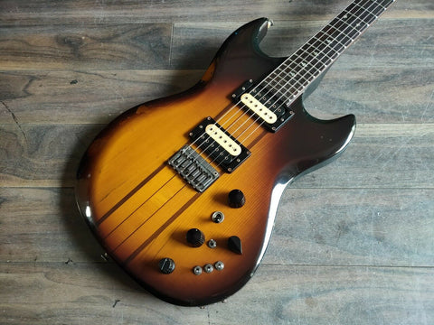1980 Aria Pro II Japan (Matsumoku) TS-500 Vintage Guitar (Brown Sunburst)