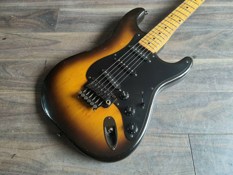 1981 Tokai Japan ST-80 54 Reissue Modified Springy Sound Stratocaster (Sunburst)